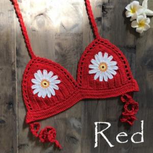 9 Color 2019 Sexy Bikini Top Women's Halter Neck Crop Top V Knit Crochet Cami Summer Fashion Bikini Lace Crochet Hollow Out Bra discountshub