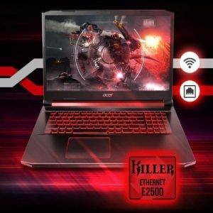 Acer Nitro 5 Gaming Intel Core I5-9300H 8GB RAM(Ugradable To 32GB)4GB NVIDIA GeForce 256 SSD WINS 10 discountshub