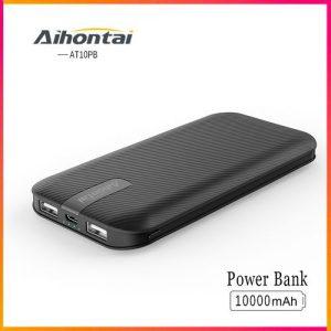 Aihontai 10000mAh Ultra Slim Fast Charging Power Banks discountshub