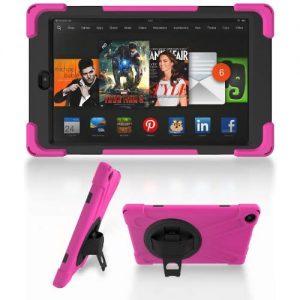 "Amazon Fire Hd Tablet with Alexa - 7"" - 1gb Ram - 16gb Rom + Rotational Proof Case discountshub"