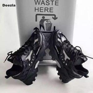 Black Unisex Sneakers discountshub