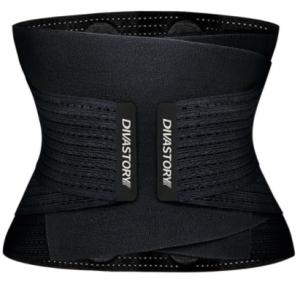Burvogue Neoprene Sweat Waist Trainer Fitness Belt Thermo Body Shaper Trimmer Corset Waist Cincher Wrap Workout Slim Shapewear discountshub