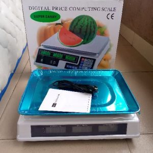 Camry 30kg - 40kg Digital Pricing Scale. Camry (rechargeable) discountshub