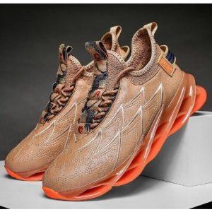 Casual Outdoor Sneakers - Brown discountshub