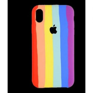 Exclusive Back Case For iPhone Xr - Rainbow Color discountshub