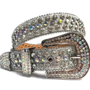 Fashion Luxury Strap Diamond Belt Western Crystal Studded Belt Cowgirl Cowboy Rhinestone Belt For Women Men Jean Cinto De Strass discountshub