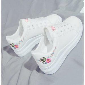 Fashion Pride White Female Sneakers discountshub