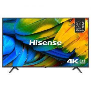 "Hisense 50"" Inches Smart UHD 4K TV + Wall Bracket discountshub"