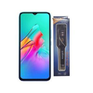 Infinix Smart Hd-x612- 2021 - Blue 32gb /2gb + Infinix Selfie Stick discountshub