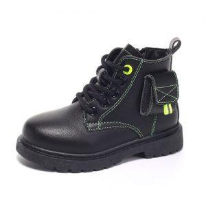 Kid's BootOutdoor Non-slip Soft Bottom Catwalk Shoes-Black discountshub