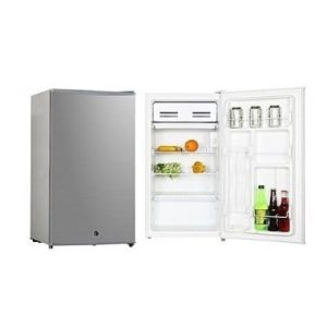 Midea 85Ltrs Single Door Refrigerator - HS-112L - Silver discountshub