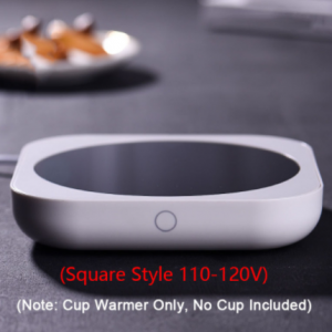 New Coffee Mug Cup Warmer for Milk Tea Pot Electric Heating Plate High Temperature 80 Degree Celsius for Home Office Desk Use discountshub