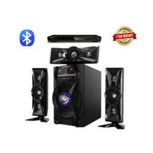 OxCarcia Powerful 3.1 Channel Bluetooth Sound System Black discountshub