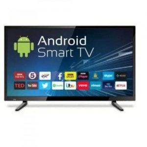 Polystar 32-Inch Smart FHD TV - Dynamic Sound + Free HDMI Cable discountshub
