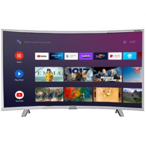 Polystar 43 INCHES CURVE SMART ANDROID AVAILABLE PV-JP43CV2100BD discountshub