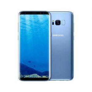 Samsung Galaxy S8 5.8-Inch QHD (4GB,64GB ROM) 12MP + 8MP 4G LTE Smartphone ( 2 Sim ) DUAL Sim - Blue discountshub