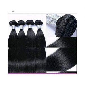 Straight Silky Lutrous Hair + Closure- Bundles For Full Head discountshub