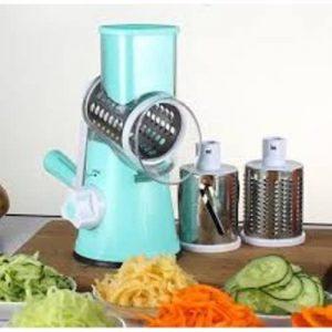 Vegetable Slicer -TableTop Drum Greater - Blue discountshub