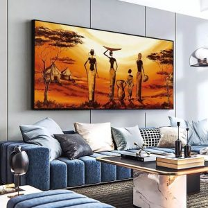 Wall Art With Frame(lovelycolor Abstract Artwork) discountshub