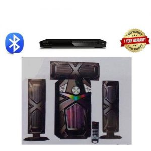 Will Share Bluetooth Home Theatre System 3.1 +Free DVD Player discountshub