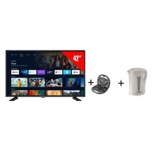 """iTEC 42"""" Fhd Smart Tv + Free iTEC Sandwich Maker & 1ltr Kettle discountshub"""