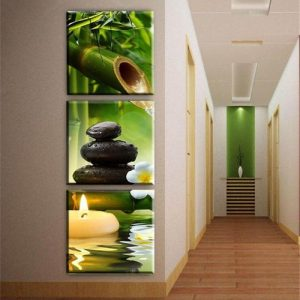 3pcs Modern Art Oil Painting Canvas Print Wall Pictures Home Room Decor Unframed discountshub