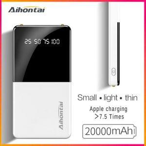 Aihontai 20000 MAh Large Capacity Power Banks discountshub