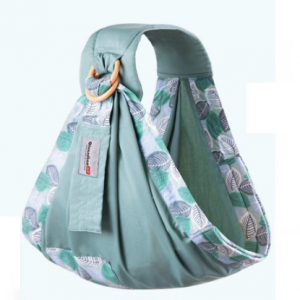 Baby Wrap Newborn Sling Dual Use Infant Nursing Cover Carrier Mesh Fabric Breastfeeding Carriers Up To 130 Lbs (0-36M) discountshub