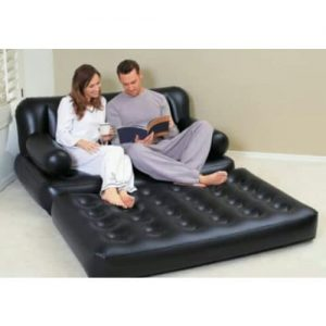 Inflatable Double Seater Sofa With Mattress discountshub