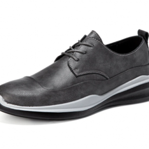Men Microfiber Leather Comfort Round Toe Soft Business Casual Shoes discountshub