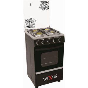 Nexus 4-burner Gas Cooker Gccr-nx-5055b (4 + 0) discountshub