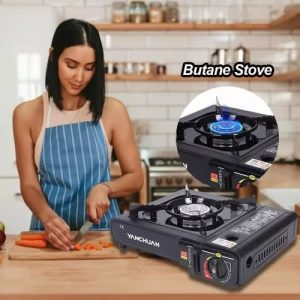 Portable Gas Stove With 1 Free Full Gas Cartridge discountshub