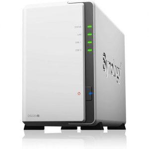 Synology DiskStation DS220j (Diskless) 2-Bay NAS Enclosure discountshub