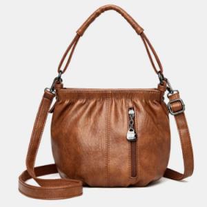 Vintage Faux Fur Waterproof All-Match Mother Bag Crossbody Bag discountshub