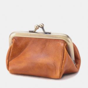 Vintage Soft Fabric Soild Exquisite Hardware Lightweight Mini Coin Purse discountshub