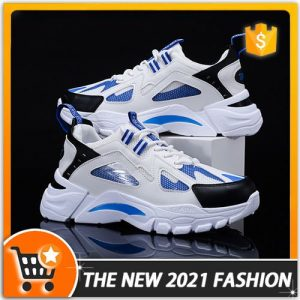 2021 Mens Casual Classic Shoes Running Sneakers - White discountshub