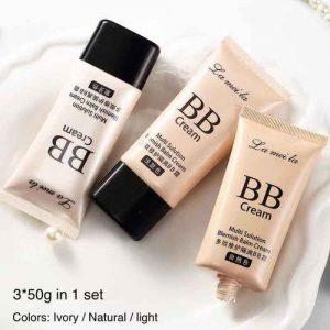 3 Packs Of Face Concealer / Foundation Cream discountshub
