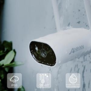 ANRAN 1080P IP Camera Smart Outdoor Wi-Fi Security Camera 2MP Surveillance Camera Waterproof Night Vision APP Control Audio discountshub