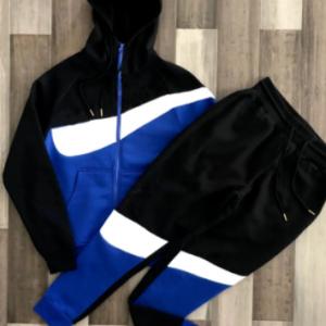 Brand Casual Sports suit Men's Loose Long Sleeve Hoodie Cardigan TrendSweatpantszip shirt ClothingS-XXXL discountshub