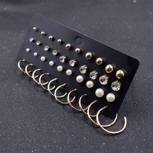 Combination Set Tassel Conch Shell Beach Earrings discountshub