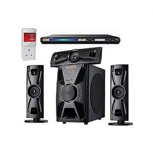 Djack 3.1ch Bluetooth Home Theatre System Dj-403 + Lg Dvd Player + Power Surge discountshub