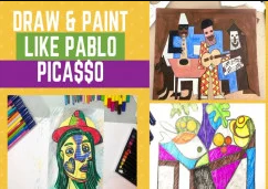 Draw and Paint like Legend Picasso in quick easy steps! discountshub