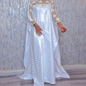 Dubai African Dresses For Women Plus Size Boubou Nigerian Clothes Ankara Dashiki Long Dress Embroidered Kaftan Robe Djellaba discountshub