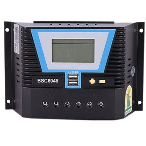Famicare Solar Charge Controller 60A/12/24/36/48v PWM discountshub