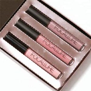 Focallure 3PCS Long-lasting Lip Colorful Lipstick FA24-KIT1#08 #10 #16 discountshub