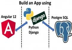 Full-Stack app with Angular 12, Python Django & PostgreSQL discountshub