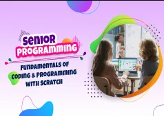 Fundamentals of Coding and Programming with Scratch- Senior discountshub