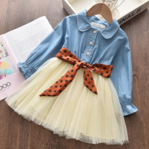 Keelorn Girls Classic Clothing Set Spring Long Sleeves Kids Princess Top and Skirt Designed 2Pcs Suits School Uniform Clothes discountshub