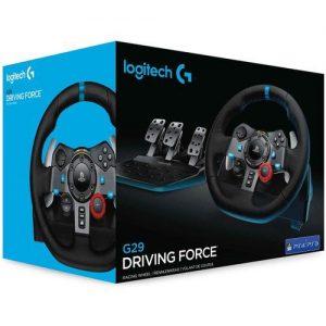 Logitech G29 Driving Force Racing Wheel And Floor Pedals. discountshub