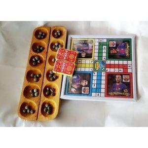 Ludo, Ayo & Whot 3 In 1 Board Game discountshub